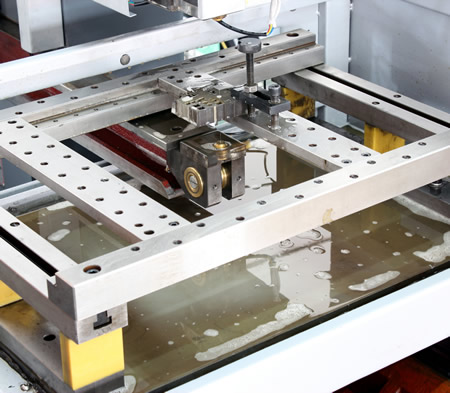 working table and clamping system